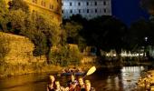 Noční rafting z Českého Krumlova