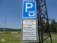 Parkoviště Borová Lada