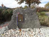 Pomník sestřeleného amerického pilota