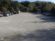 Parkoviště v Zlaté Koruně