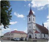Purkarec, zřícenina a Českobudějovické náměstí