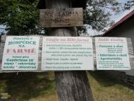 Popisek ZOO farmy