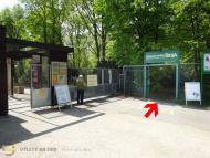 Botanická zahrada - Pokladna sever