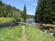Soutok Roklanského a Modravského potoka