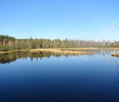 Z Churáňova na Jezerní a Chalupskou Slať