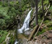 Špičácké sedlo, vodopád Bílá strž, vrch Ostrý