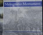 Melegnaský pomník English