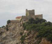 Punta ala, hrad Rocchette, Castiglione della Pescaia
