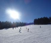 SKI Zadov - běžecké stopy Churáňov