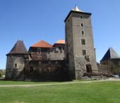 Hrad Švihov, Kamýcká skála a zřícenina hradu Kokšín