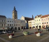 Cyklo Třeboň, náměstí Přemysla Otakara II., České Budějovice