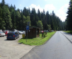 Parkoviště a autobusová zastávka Antýgl