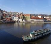 Přístaviště Čechův most, Pražský hrad
