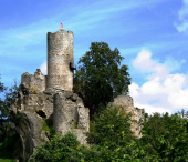 Malá Skála, zříceniny hradů Vranov a Frýdštejn, skalní město Drábovna