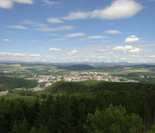 Ústí nad Orlicí, rozhledna Andrlův Chlum