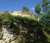 Brandýs nad Orlicí, zřícenina hradu a přírodní bludiště