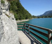 Cyklovýlet okolo jezera Wolfgangsee