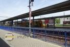 Vlakové i autobusové nádraží Tábor a přilehlá parkoviště