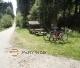 Cesta z Purkarce zpět na Hlubokou