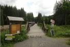 Hradlový most a parkoviště