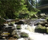 Antýgl most, soutok Vydry a Hamerského potoka