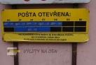 Pošta otevírací doba