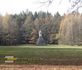 Pohled na pomník Jana Žižky