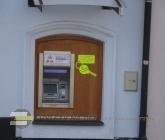 Bankomat u startu trasy
