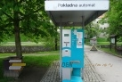 Platební automat a směr trasy
