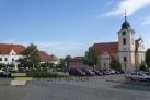 Náměstí Míru v Týně nad Vltavou