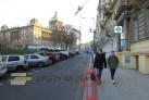 Ulice od Hlavního nádraží k Muzeu
