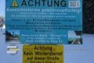 Nástupiště do běžecké stopy Schöneben