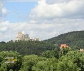 Vyhlídka na hrad Rabí