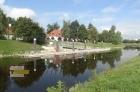 Přístaviště na řece Vltava.