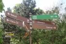 Informační cedule u Lannova památníku
