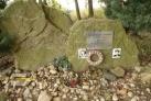 Pomník druhého sestřeleného amerického pilota