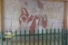 Obraz tří plačících jeruzalémských žen, když potkávají Krista s křížem.
