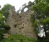 Zřícenina hradu Kunžvart