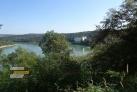 Vyhlídka nad vodní nádrží Orlík