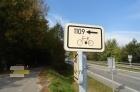Cykloznačení trasy 1109.