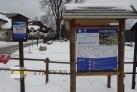 Skiareál Strážný a nástupiště běžecké trasy