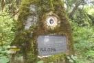 Památník po cestě z Krásné hory