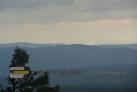 Z rozhledny uvidíte přes 60km vzdálenou elektrárnu Temelín.