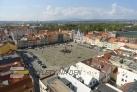 Pohled na náměstí z Černé Věže